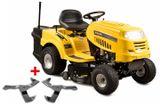 RLT 92 T POWER KIT - travní traktor se zadním výhozem a 6-ti stupňovou převodovkou Transmatic
